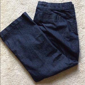 Lee natural fit denim trousers 24W